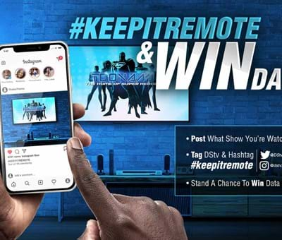 Keep It Remote With DStv Data Giveaway