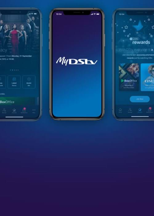 Download the MyDStv App